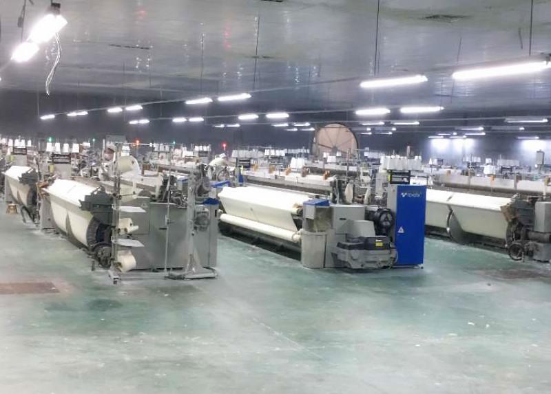 全棉peng布纺织生产设备